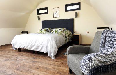 Habitación cama king + diván cama